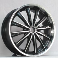 Hot-sell black machine fice car alloy rims 22 inch export to Germany