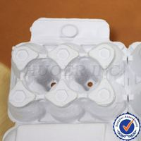 Pulp Egg Tray/molded pulp tray for coffee machine
