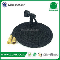 2016 low cost manufacturing wate bulk order expandable garden hose with splitter