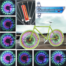 Camp Light Custom Message LED Cycling Bicycle Wheel Signal Tire Spoke Light Programm Led Bicycle Light for All Bike Illumination