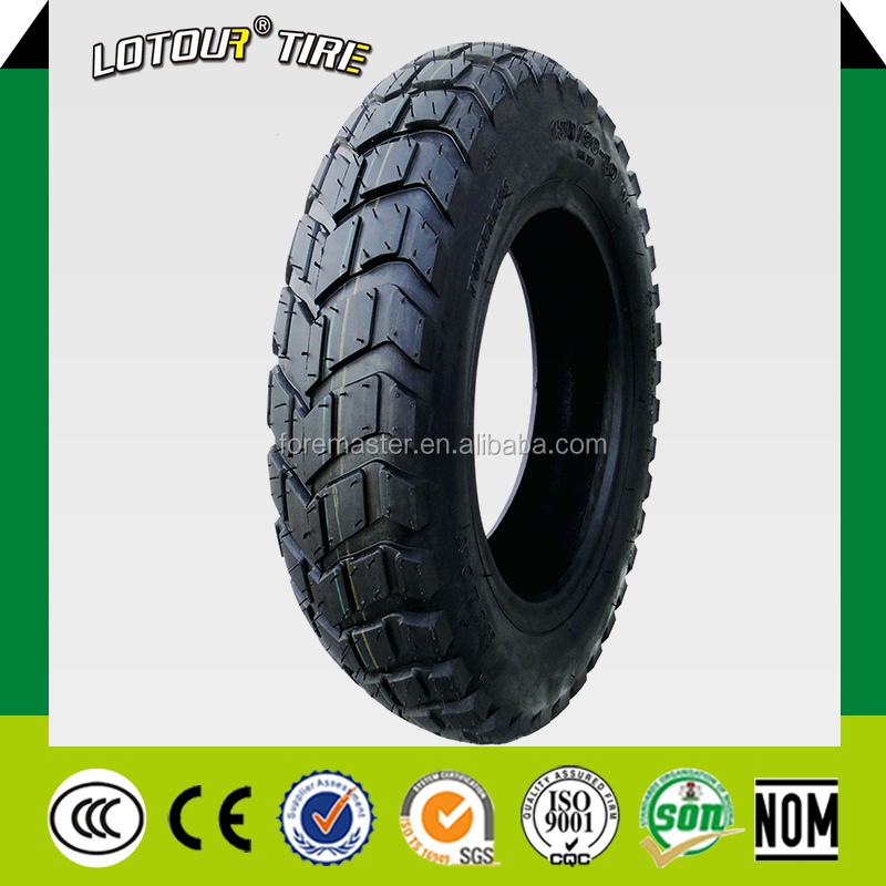 High Quality Motorcycle Tyre Tubeless Tyre 130/90-10