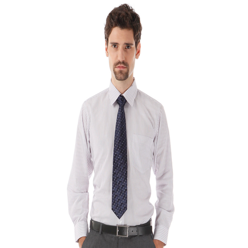 Wholesale 2016 Trend Mens Tailored Dress Shirt With Oem
