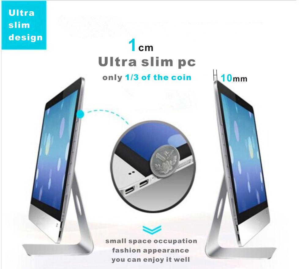 Ultra Slim Hot Selling Computer , All in One PC i3 | i5 | i7 CPU OEM 18.5'' 21.5'' 23.6'' AIO PC Desktop All in One