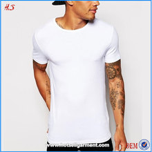 High Quality Products T Shirt Design White Blank Custom Plain T-Shirts For Men