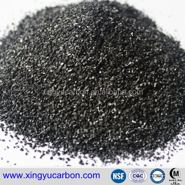 Coconut Shell Silver 20x60mesh Activated Carbon Supplier for Home Water Filters