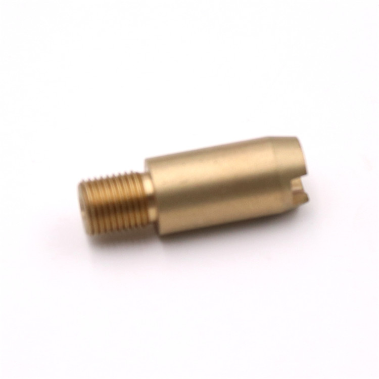 standard cnc brass machining parts in mass production under precision high quality