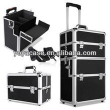 New Portable Cosmetic Beauty Make Up Carry trolley Case