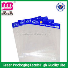 Customized Self Sealing OPP Plastic Bag with Circle Hanging Hole Header Bag
