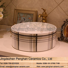 Chinese factory direct art ceramic elegant bathroom basin and sink