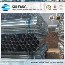2017 hot sale Factory price GI pipe galvanized steel pipe size ! iron steel pipe! Supplier in China