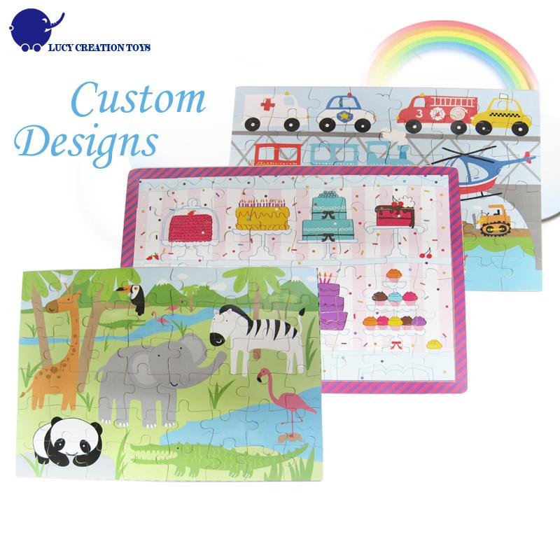 Kids 1000 pieces custom wooden jigsaw puzzle buy jigsaw for Custom 5000 piece puzzle