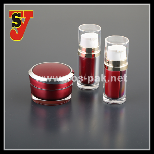 Cosmetic Empty Plastic 30g 50g Colorful Cosmetic Containers