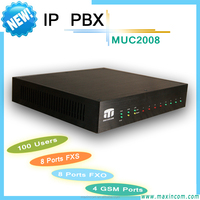 new 8 ports IP PBX/ IP basic pbxsystem/cost effective IP solution
