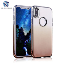 New arrival solf TPU mobile phone accessoires case back cover For Iphone X
