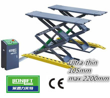 Used Auto Body Equipment/movable Mid Rise Scissor Lift