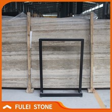 Top italian grey marble types silver grey travertine marble m2 price