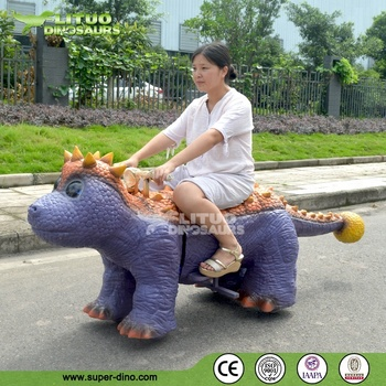 Battery Power Coin Operated Electric Dinosaur Ride