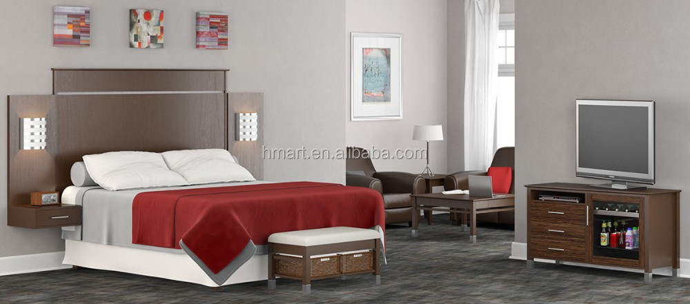 2017 New Design of Hotel Bedroom Set for Microtel Inn