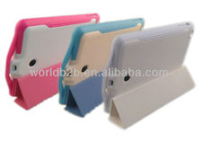 6500mAh backup battery power leather case for iPad Mini