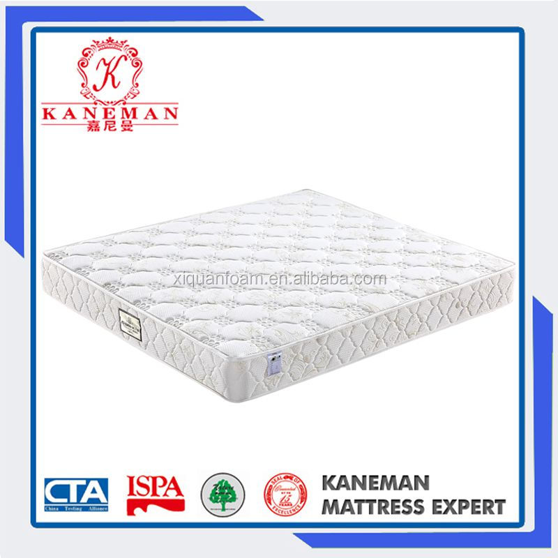 High-end And Soft And comfortable King Hotel Spring Mattress Five Star Mattress