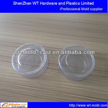 export PC clear plastic nuts packaging box injection mold