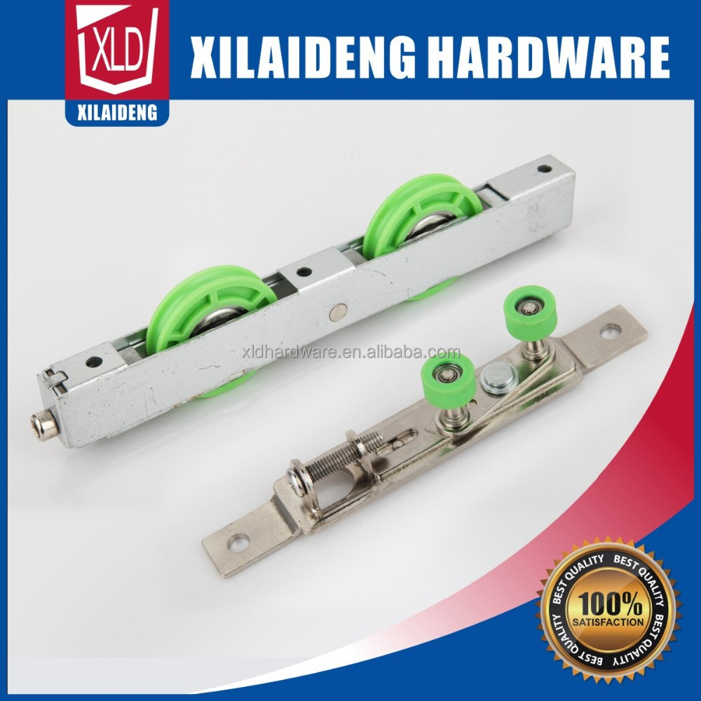 Furniture Hardware hollow door wheel,window quadruple wheels