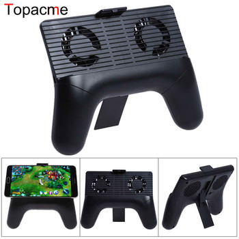 2017 New Phone Heat Radiator Cooling FanGame Controller Joystick For Smartphone