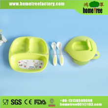 300ml plastic bottle plate Baby Feeding Set