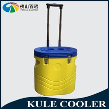 Rotomolding insulated cooler. ice cooler box with wheels evaporative air cooler