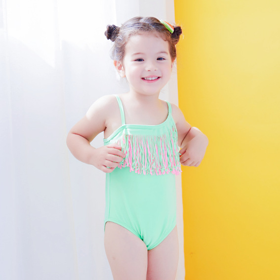 S61816B 2017 Hot Fashion kids swimwear/girl children Sexy Strap Swimsuit