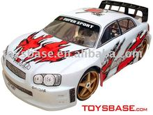 1 7 nitro gas car, rc hobby,model car