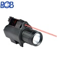 Combo CREE LED Flashlight &Green/RED Laser Sight 20mm Picatinny Rail Mount