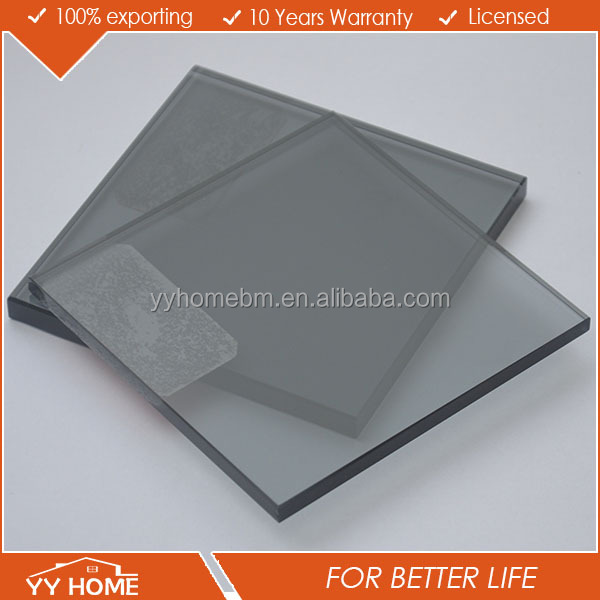 Australian standards AS2208 1288 4666 4mm 5mm 6mm 8mm 10mm black tinted glass