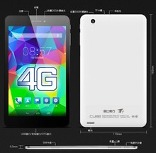 7 inch Android 4.4 MTK8752 2.0GHz 4g lte phone tablet T7 CUBE tablet octa core