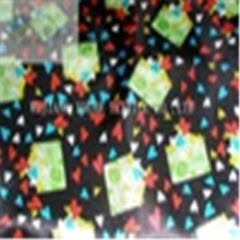 Printed Polyester Cotton Satin Fabric for Lady Dress customize-made