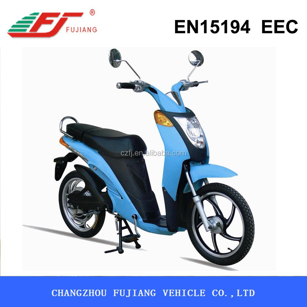 350W cheap japanese electric scooter with EEC