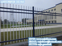 ISO Certificated solid metal fence panel made in china DK016