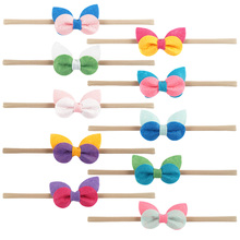 New style hair bow headband bows for babies HD-1612242