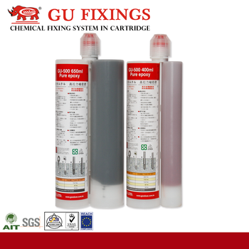 Epoxy mortar grout construction adhesive chemical anchor fasteners
