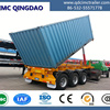 Transporting Coal Semi Tipper Dumping Trailer