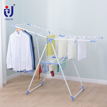 Butterfly style foldable clothes drying rack for baby