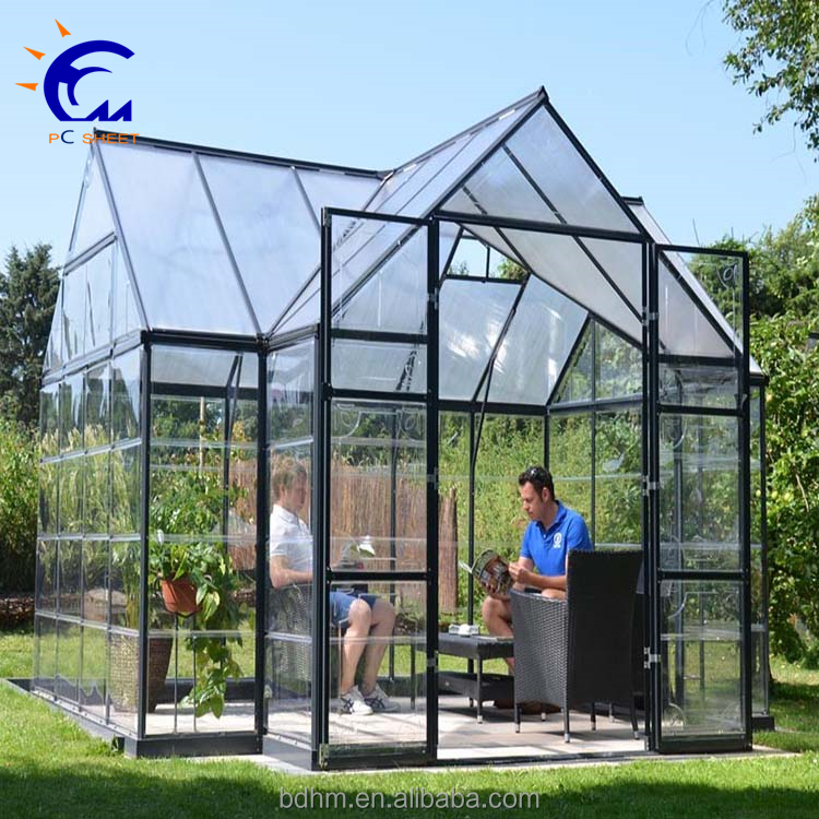 Hot sales sunshade cloth cover mini green house garden,green house for sale cheap,polycarbonate material green house roofing