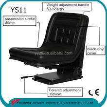China made new design suspension tractor seat