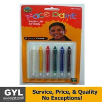 Face Paint Crayon Set With Walmart Audit Face Paint Crayon Set With ASTM D4236 And EN-71 Walmart Audit