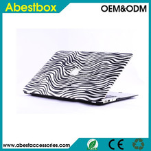 Embossment Protective Cover Case for MacBook Cover with Retina Pro 15.4 With Flag Leopard Design