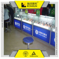 High end retail store design mobile phone store furniture