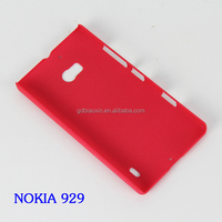 Hot selling Sand mobile phone case for Nokia lumia 929, Pc crystal back covers for NOKIA 929