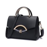 New European and American Fashion Trendy Shoulder bag Pu Leather Handbag for Women