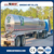 304 Stainless steel water milk tractor tanker truck trailer