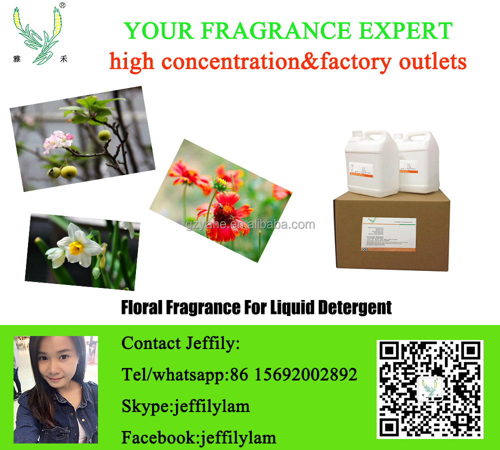 Longlasting floral fragrance used for all sorts of daily products making,natural flower concentrated fragrance